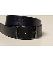 emporio armani belt reversible emporio armani belt in smooth and hammered calfskin
