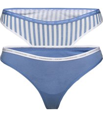 thong 2pk stringtrosa underkläder blå calvin klein