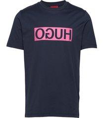 dicagolino202 t-shirts short-sleeved blå hugo