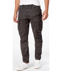 g-star raw men's rovic 3d straight tapered fit cargo pants