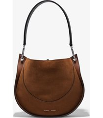 proenza schouler arch shoulder bag chocolate/brown one size
