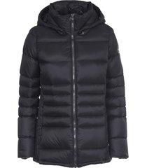 colmar balck shoert hooded jacket
