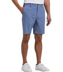 joseph abboud chambray modern fit shorts