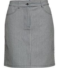 max skirt kort kjol grå nué notes
