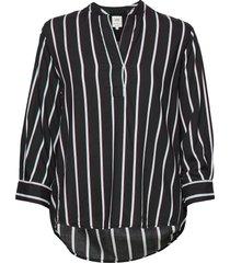 blouse blus långärmad svart lee jeans