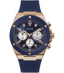 reloj guess hombre poseidon/gw0057g2 - azul