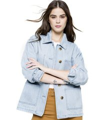 chaqueta cargo denim five