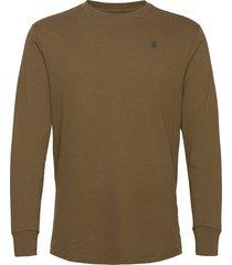 lash r t l\s t-shirts long-sleeved grön g-star raw