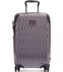 tumi latitude 22-inch international rolling carry-on - purple