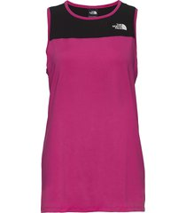 w active trail tank t-shirts & tops sleeveless rosa the north face
