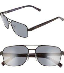 men's ted baker london 58mm polarized navigator sunglasses -