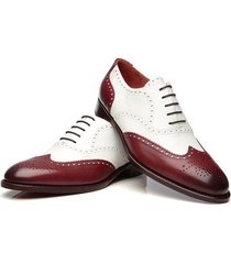 new handmade luxury men's good year welted tuxedo brogue dress leather shoes