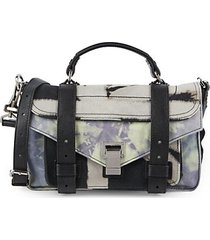 tiny ps1+ tie-dye satchel