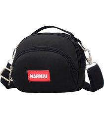 tela per il tempo libero crossbody borsa outdoor shoulder phone borsa per le donne