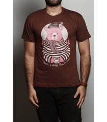 camiseta coffee bear