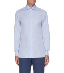 'milano' french collar cotton shirt