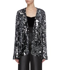 'gemma' sequin evening jacket