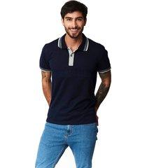 camiseta tipo polo-puntazul-azul oscuro-41431