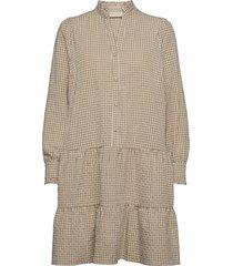fqgingham-dr dresses everyday dresses beige free/quent