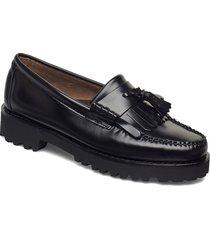 gh weejun 90 esther kiltie loafers låga skor svart g.h. bass