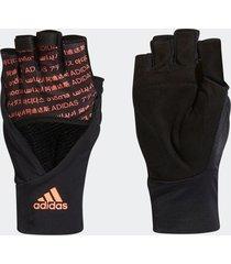 luva adidas trn glove gra preto