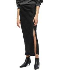 women's anine bing dolly midi skirt, size x-small - black