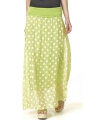 falda lunares verde bous