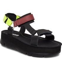 oruga up shoes summer shoes flat sandals svart camper