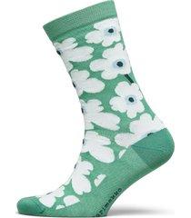 hieta unikko socks lingerie hosiery socks grön marimekko