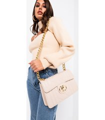 akira against all odds quilted faux leather purse