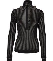 shirt sweater gebreide trui zwart hope