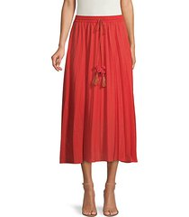 collins pleated skirt