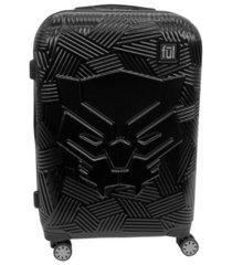 """ful marvel black panther molded 25"""" hardside spinner suitcase"""