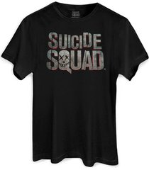 camiseta dc comics bandup! esquadrão suicida logo