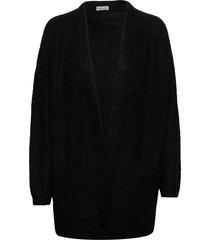 belinta stickad tröja cardigan svart by malene birger