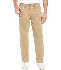 mavi jeans max relaxed fit twill pants, size 36 x 32 in british khaki twill at nordstrom