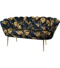 sofa monstera dwuosobowa tapicerowany lux-4