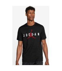camiseta jordan air wordmark masculina