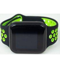 relógio smartwatch fitgear skill pro preto/verde