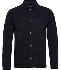 chester twill worker jacket tunn jacka blå lexington clothing