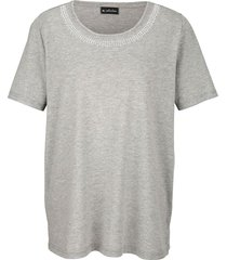 shirt m. collection zilvergrijs