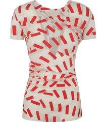 maison margiela lace tape t-shirt
