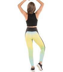 legging pantalón deportivo active power acid climacool, uv y neotex