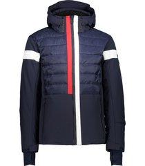 campagnolo dons b. blue jacket zip hood