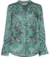 radiant blouse blouse lange mouwen groen odd molly