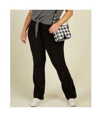 calça plus size feminina legging marisa