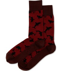 hot sox men's shark crew socks