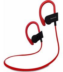 audífonos inalámbricos deportivos, auriculares deportivos portátiles auriculares inalámbricos audifonos bluetooth manos libres auriculares ergonómicos para sony iphone samsung (rojo)