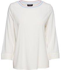 blouse blus långärmad vit marc o'polo