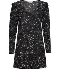 andra kort klänning svart mango